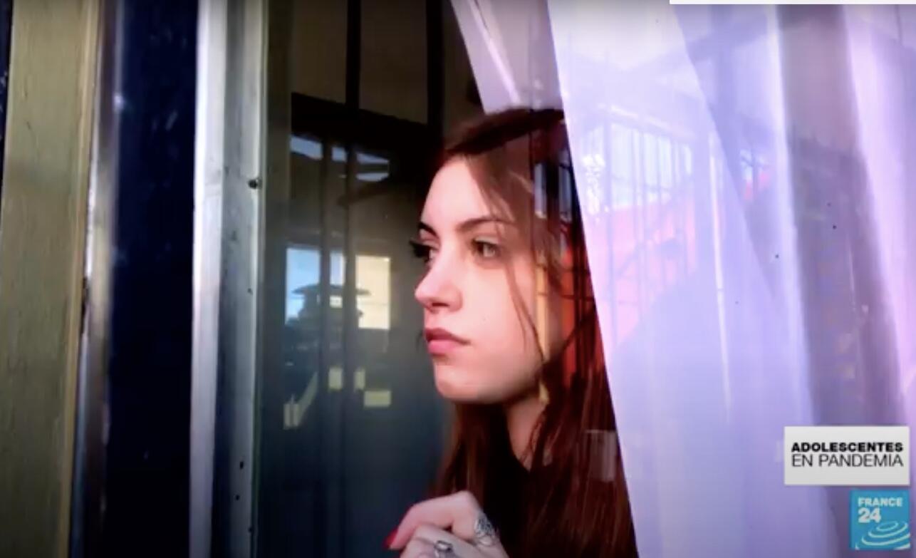 Lucía, con 17 años, espera el fin de la pandemia en Argentina para poder continuar con su vida normal.