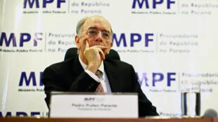 Pedro Parente dejó el cargo de presidente de Petrobras debido a la huelga de camioneros por el precio del combustible. Mayo 8 de 2018.