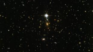 Prise de vue du téléscope Hubble de la Nasa.