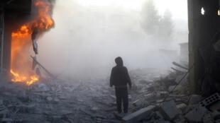 Le conflit en Syrie a fait plus de 250 000 morts et poussé à l'exode des millions de personnes.