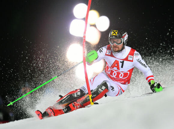 Marcel Hirscher à la poursuite de l'or olympique.