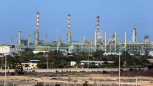 Le complexe gazier et pétrolier de Mellitah, dans l'ouest de la Libye.
