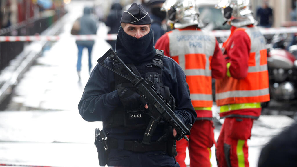 Knife attack outside Charlie Hebdo's former offices: A Paris district resigned to violence