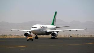 طائرة ركاب إيرانية تابعة لشركة ماهان إير