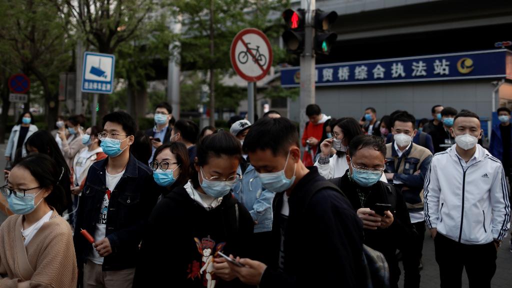 En China hubo un aumento en las cifras, mientras el país trata de volver a la normalidad.