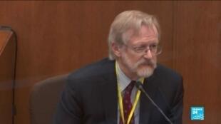 2021-04-09 11:09 Procès de Derek Chauvin aux États-Unis : un expert contredit la thèse d'une overdose de George Floyd