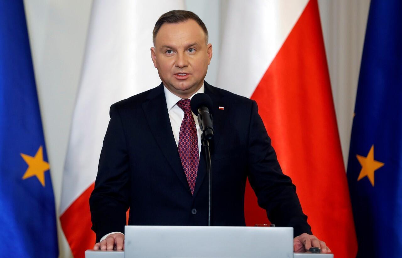 Imagen del actual presidente de Polonia, Andrzej Duda.