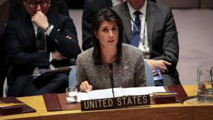 La mission américaine auprès des Nations unies a annoncé samedi 2 décembre le retrait américain du pacte mondiale de l'ONU sur les réfugiés.