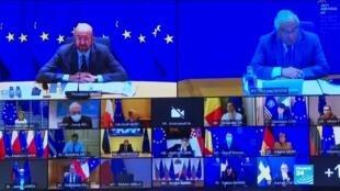 Un sommet de l'UE en visioconférence le 21 janvier sur la crise sanitaire.