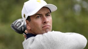 Missing man: Adam Scott is yet to return to the PGA Tour