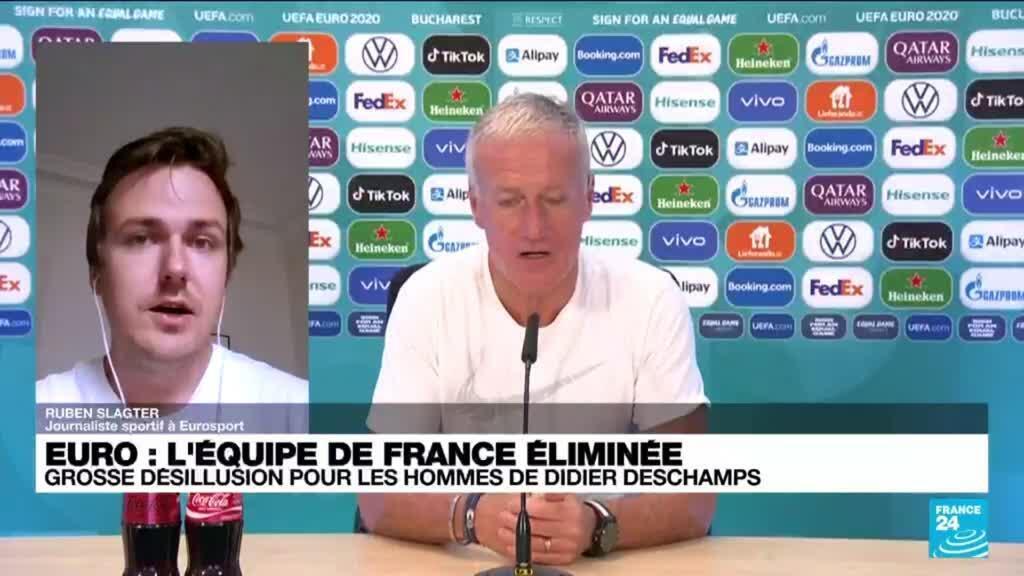 2021-06-29 14:03 Euro-2021 : Les Bleus éliminés : grosse désillusion pour les hommes de Didier Deschamps
