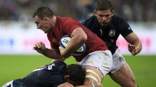 La France a peiné face à une vaillante équipe écossaise, samedi soir, au Stade de France.