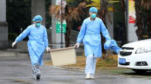 Las autoridades confirmaron que ya son cerca de 300 los contagiados en China. 21 de enero de 2020.