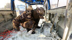 Suicide bomber detonates explosives outside main US base in Afghanistan