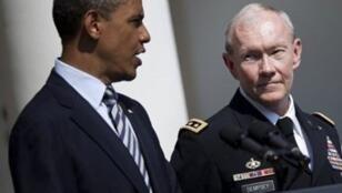 Le général Martin Dempsey au moment de sa nomination en 2011