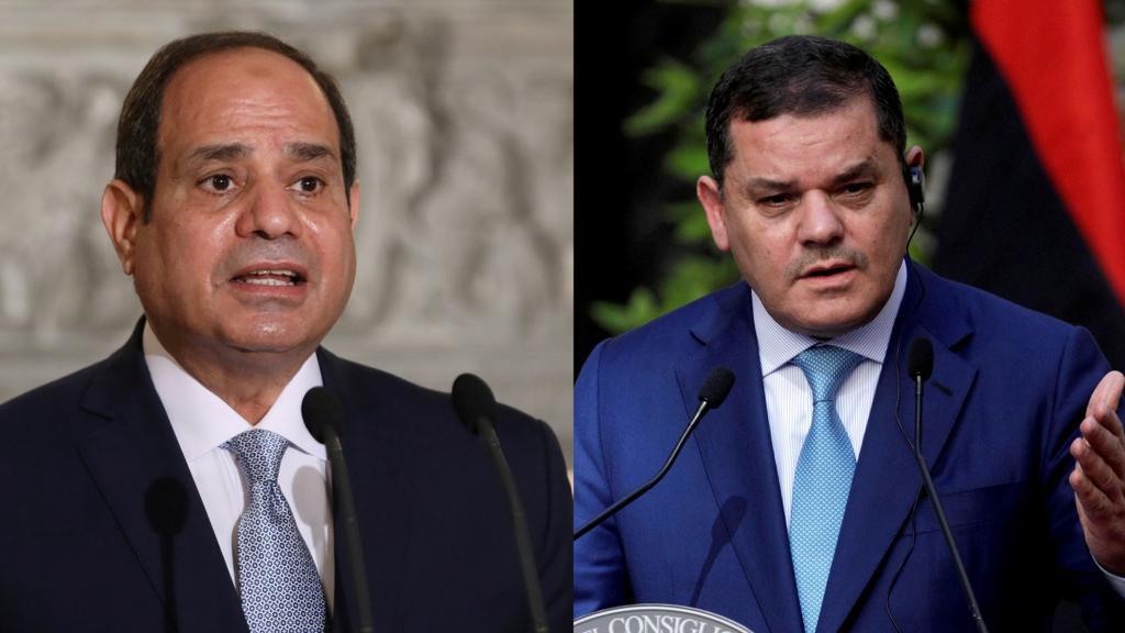السيسي يؤكد في لقائه مع الدبيبة بالقاهرة على أهمية إجراء الانتخابات الليبية في موعدها