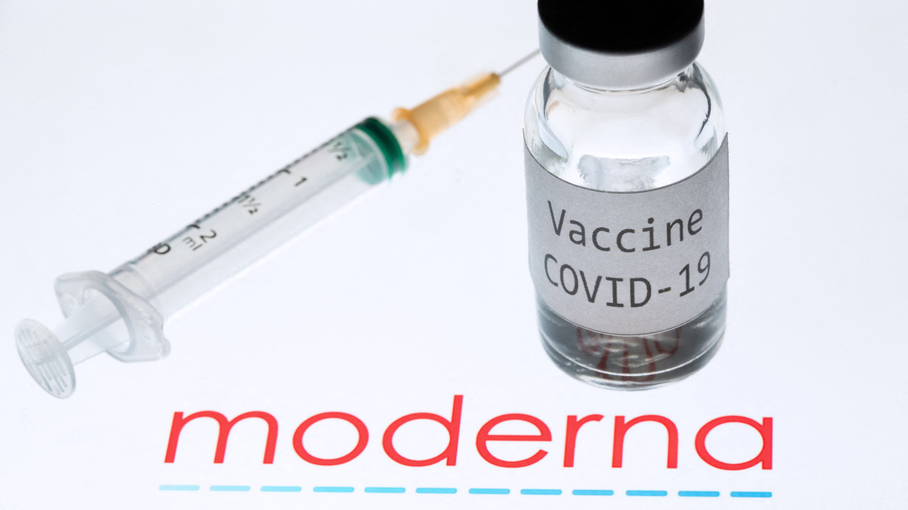 File photo of Moderna's vaccination kit, a company that has announced its effectiveness and safety among adolescents.