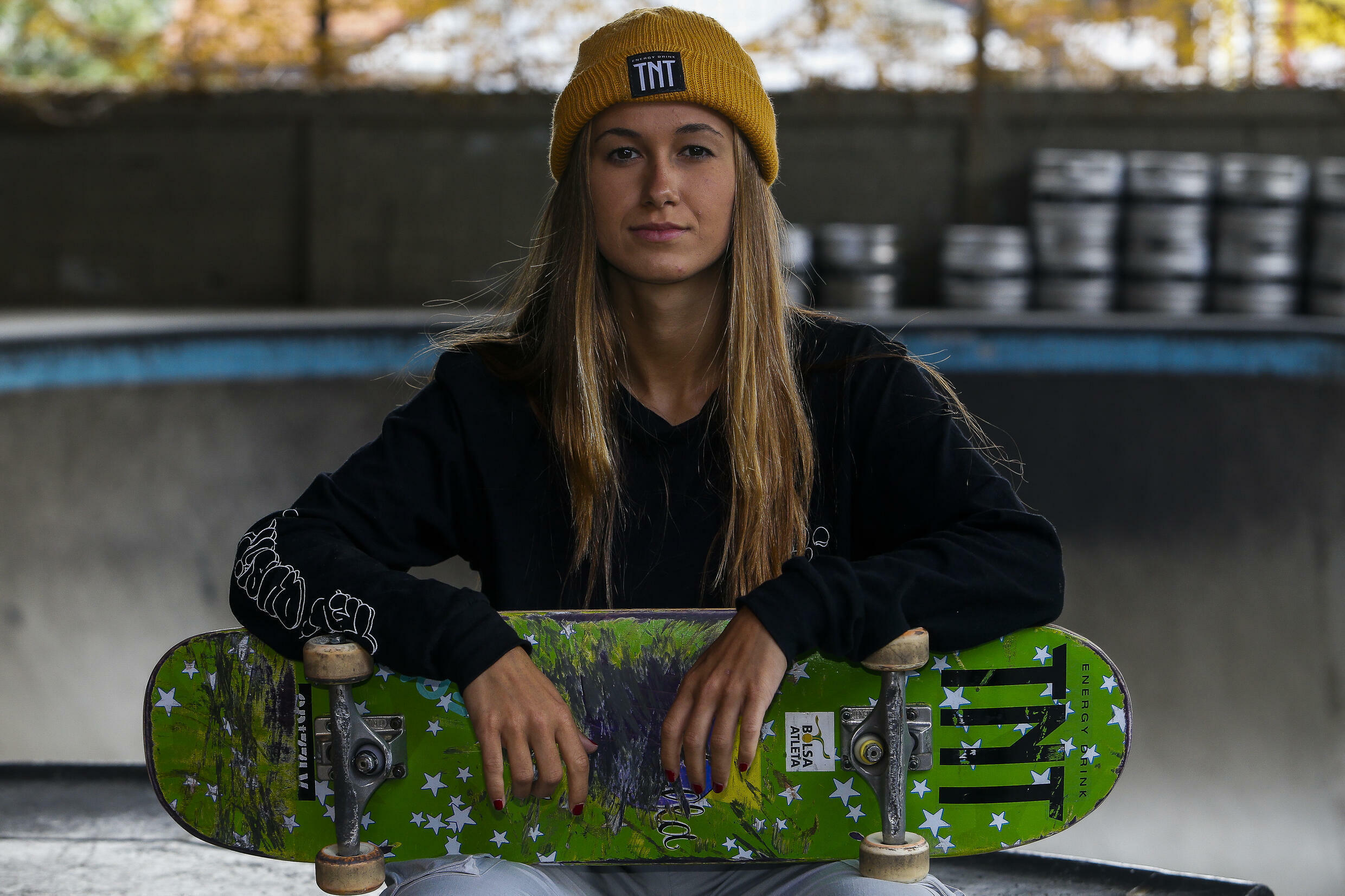 Dora Varella was one of the only girls at the skate park when she started 10 years ago