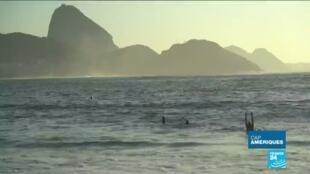 2020-05-14 13:51 Coronavirus au Brésil : Rio confinée, les lieux touristiques désertés