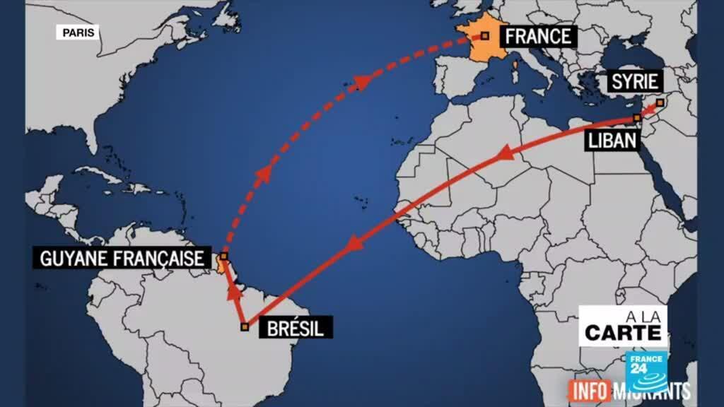 2020-11-17 09:45 L'improbable périple de Syriens entre le Liban et la Guyane