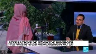2019-12-11 11:05 Accusations de génocide rohingya : 740 000 Rohingyas réfugiés au Bangladesh depuis 2017