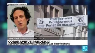 2020-08-03 22:00 Coronavirus pandemic: more French cities make masks compulsory outdoors