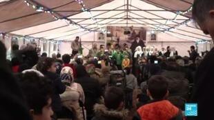 2020-02-11 09:39 Iran : à Neauphle-le-château, le souvenir de l'ayatollah Khomenei encore très présent