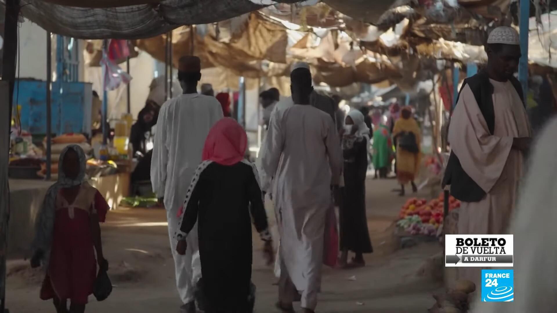 Boleto de vuelta Darfur