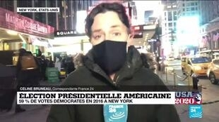 """2020-11-03 23:02 Présidentielle américaine : le vote par anticipation """"a plutôt bien fonctionné"""" à New York"""
