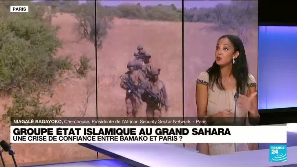 2021-09-16 16:06 Groupe Etat islamique au Grand Sahara : une crise de confiance entre Bamako et Paris ?