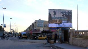 À Raqqa, fief des combattants jihadistes de l'EI, le 2 novembre 2014.