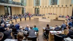 جلسة لمجلس الولايات الاقليمية في البرلمان الالماني في برلين في 10 آذار/مارس 2017