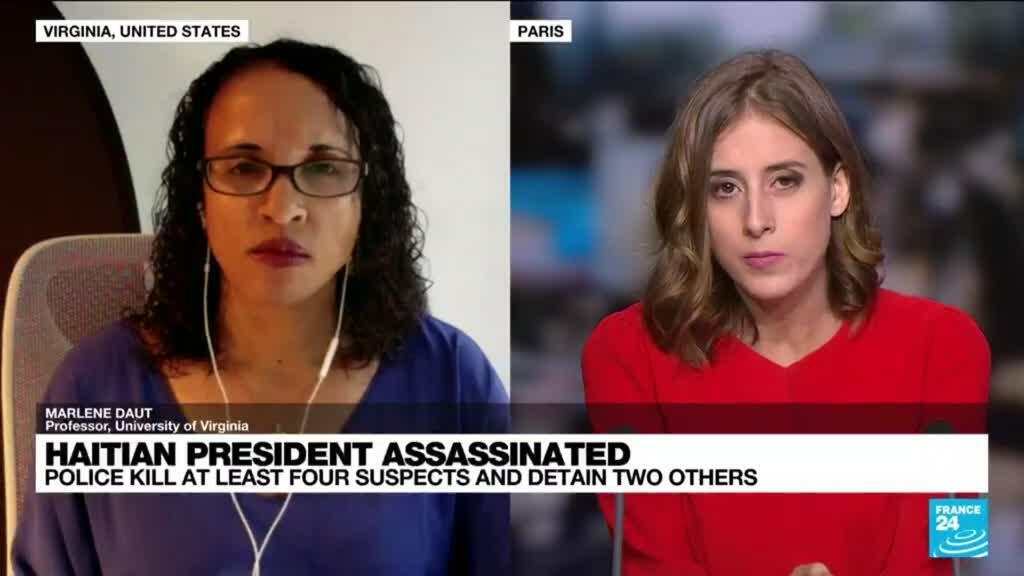 2021-07-08 17:03 'Alleged assassins' of Haitian president in custody as uncertainty grows