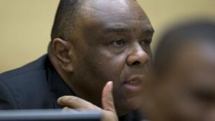 L'ex-vice-président de République démocratique du Congo, Jean-Pierre Bemba, le 29 septembre 2015 à la Haye.
