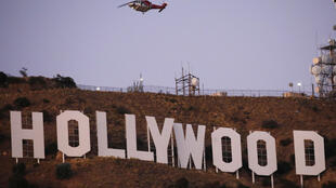 """Pranksters changed the iconic Hollywood sign to read """"Hollyboob"""""""
