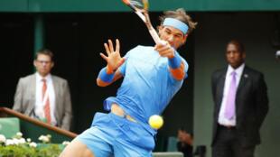 Rafael Nadal a totalement maîtrisé son match face à son compatriote Nicolas Almagro.