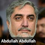 عبد الله عبد الله مرشح الانتخابات الرئاسية الأفغانية