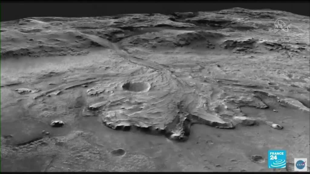 2021-02-19 10:43 Mission spatiale : sur Mars, Perserverance va rechercher des traces de vie ancienne