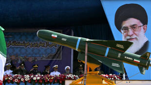 Parade militaire lors de la fête de l'armée iranienne, célébrée en avril 2018 à Téhéran (archives).