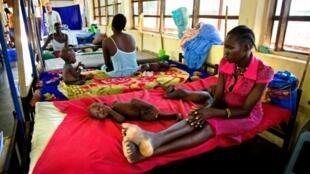 صورة مأخوذة في جنوب السودان