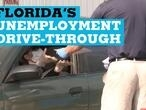 Florida's unemployment drive-through