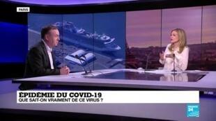 """2020-02-13 18:19 Epidémie du COVID-19: """"Il n'y a pas de circulation de virus en France"""""""