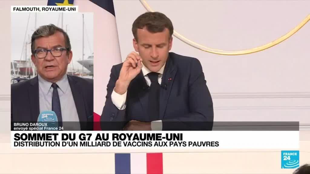 2021-06-11 08:04 Sommet du G7 : Emmanuel Macron précise ses orientations en matière de politique étrangère