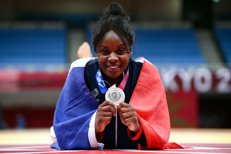 Madeleine Malonga, fière de sa médaille d'argent aux JO de Tokyo