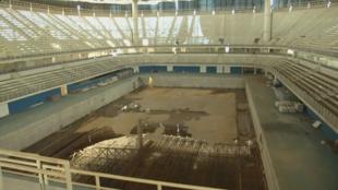 Imagen de la piscina olímpica del Parque Olímpico de Río de Janeiro 2016.