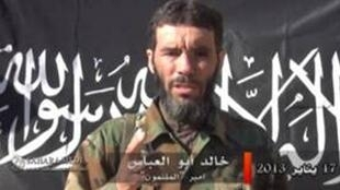 An image of Belmokhtar released in January 2013 by the SITE Intelligence Group.