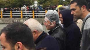 Manifestation contre la hausse du prix du pétrole, 16 novembre 2019
