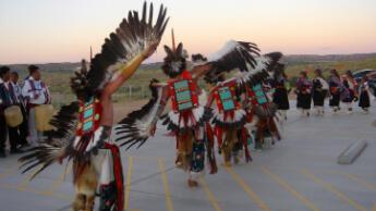 Des danseurs de la tribu Hopi