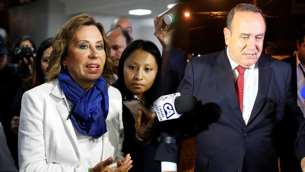 La ex primera dama, Sandra Torres, y el aspirante de centroderecha, Alejandro Giammattei, disputarán la segunda vuelta electoral.