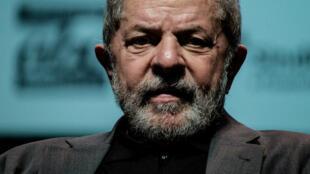 L'ancien président brésilien Lula, le 6 juin 2016 à Rio de Janeiro.